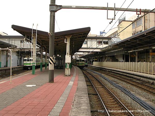 新潟駅の2-3番島式ホームその6