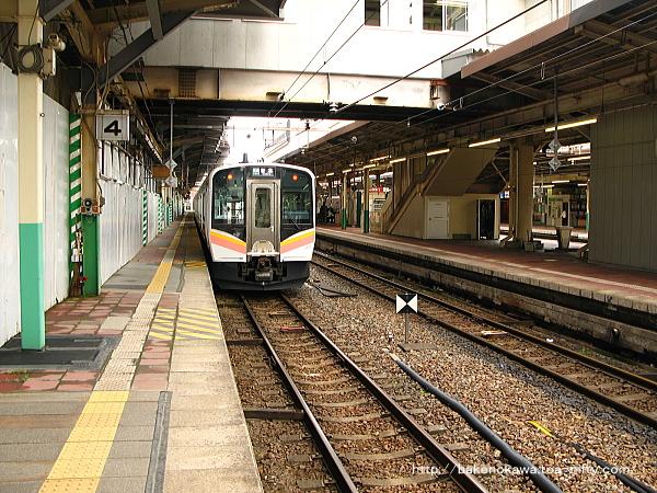 新潟駅の4番線その1