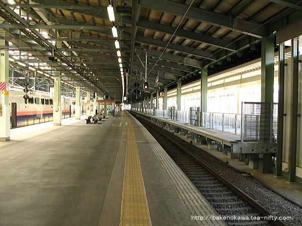新潟駅新幹線ホーム