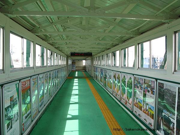 東三条駅の跨線橋その2