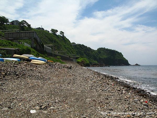 青海川の海岸その1