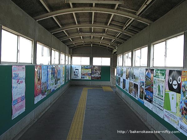 羽生田駅の跨線橋