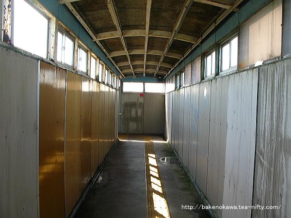 田上駅の跨線橋