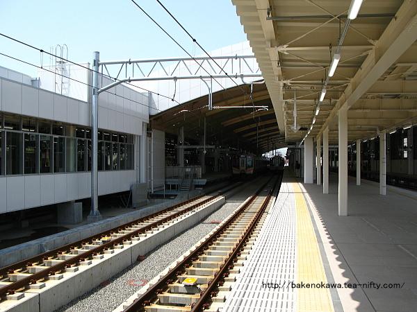 新潟駅在来線高架3-4番島式ホームの様子その6