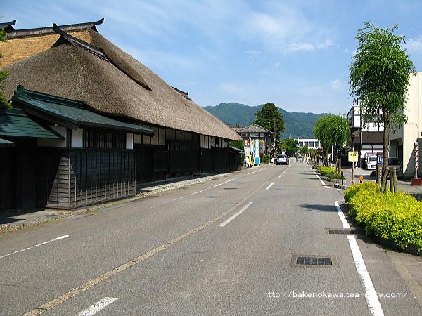 関川村のメインストリートの様子その2