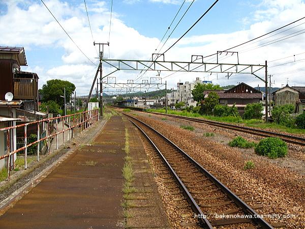 加茂駅の2番ホームその6