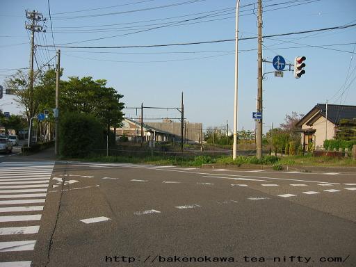 東関屋駅跡その一