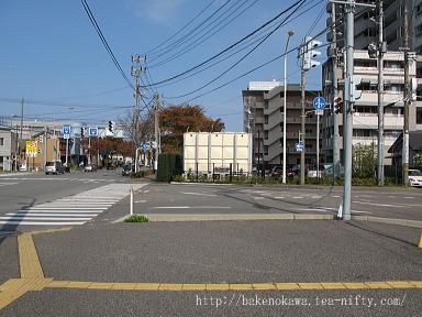 東関屋駅跡その五