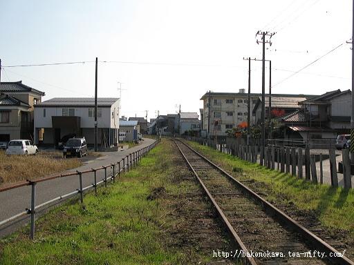 東関屋駅跡その十