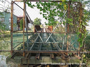 西川に架かる鉄橋その3