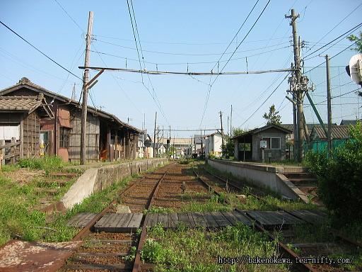 焼鮒駅の廃ホームその3
