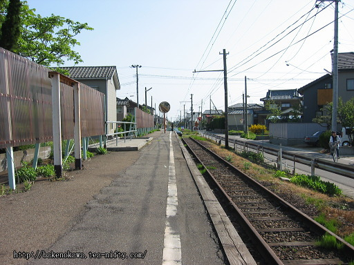 黒埼中学前駅の廃ホームその3