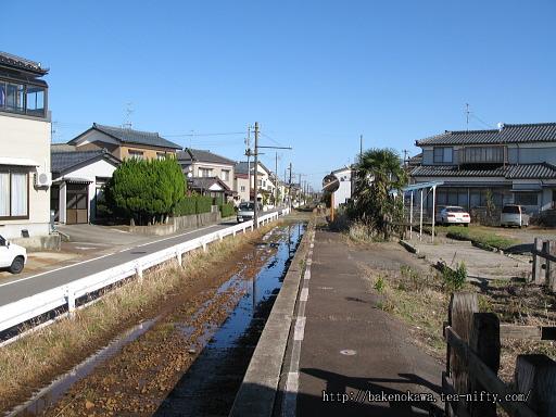 線路撤去後の新大野駅その1