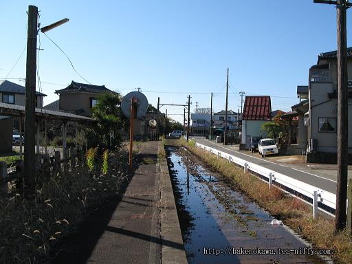 線路撤去後の新大野駅その2