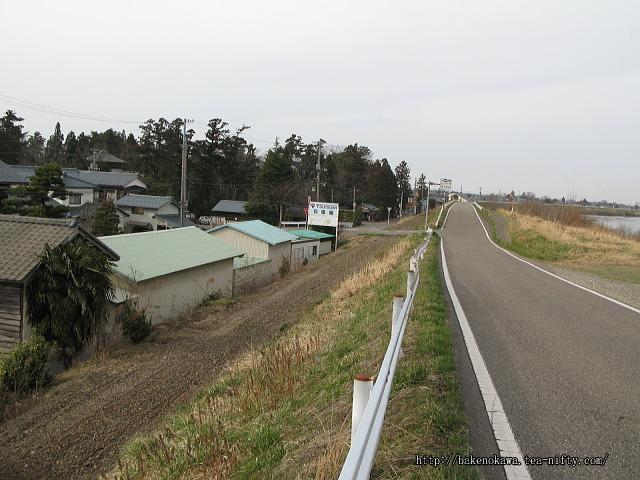 笹川邸付近の電鉄線廃線跡その3