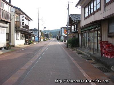 越後大島駅前通り