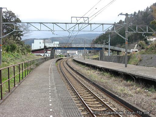 梶屋敷駅の1番線その1