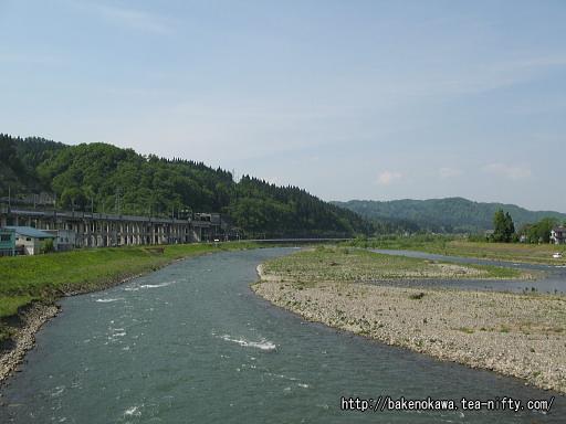 駅近くの魚野川その2