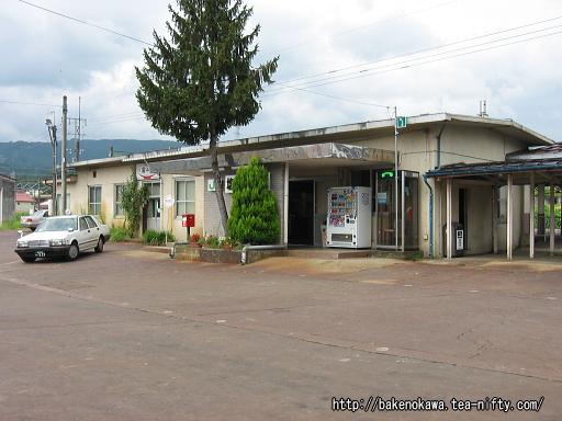 塩沢駅の旧駅舎