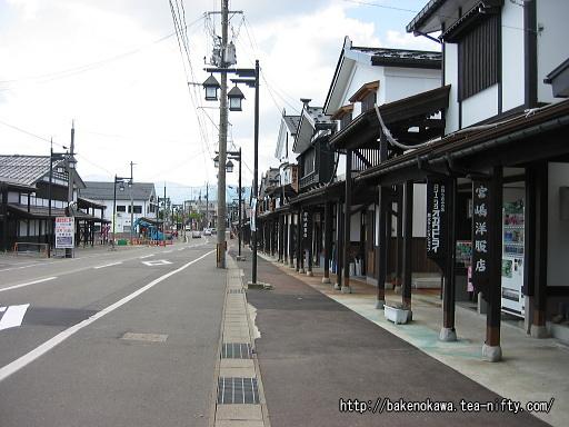 旧塩沢駅のメインストリートその1