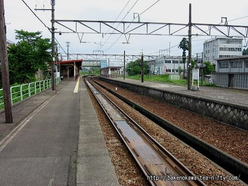 小千谷駅の1番ホームその2