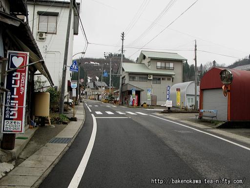 旧入広瀬村の中心地区