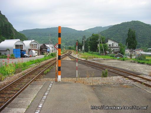 入広瀬駅の旧島式ホームその3