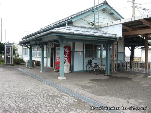 谷浜駅駅舎その2