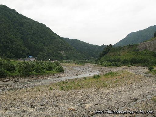 旧国道橋から見た姫川