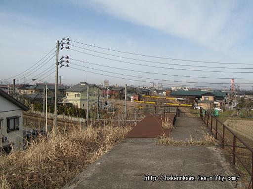蒲原鉄道の旧陣ヶ峰駅跡その3