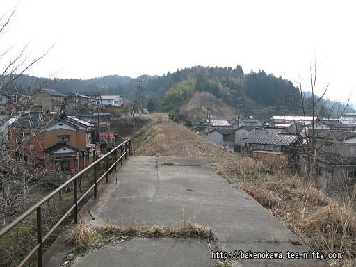 蒲原鉄道の旧陣ヶ峰駅跡その4