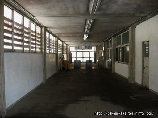 湯檜曽駅の旧駅舎内部その3