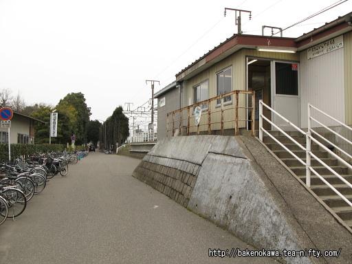 かつての越後石山駅駅西口
