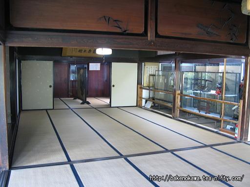 渡辺邸の座敷