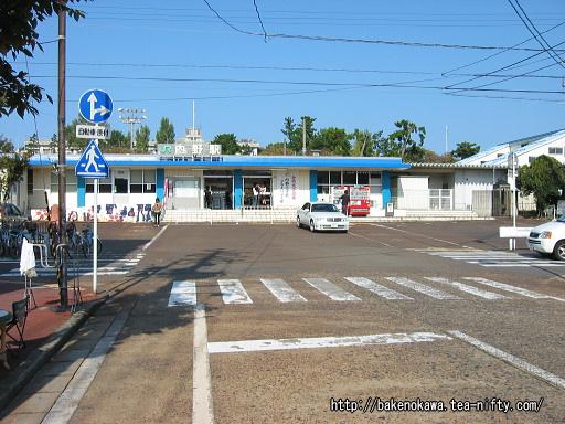 内野駅の旧駅舎その1