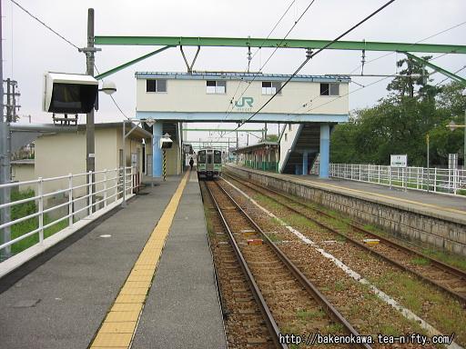 内野駅の1番ホームその1