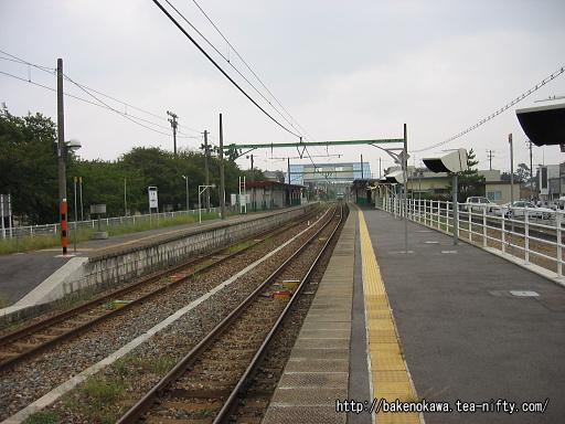 内野駅の1番ホームその2