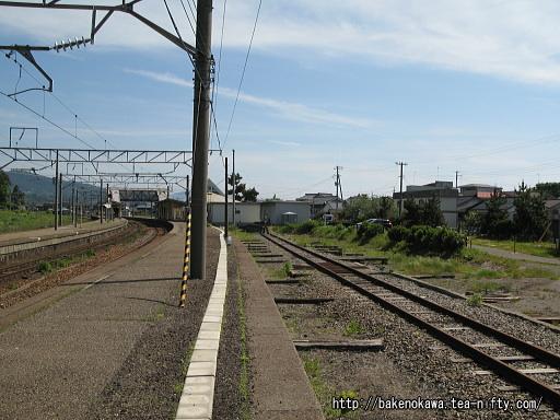 旧貨物線と思しき線路