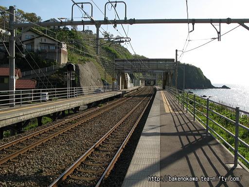 青海川駅の下りホームその2
