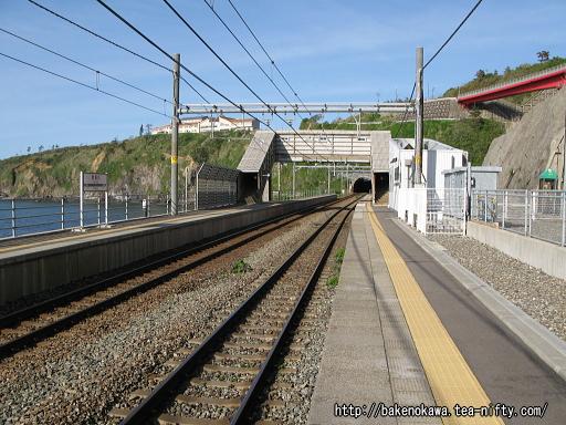 青海川駅の上りホームその1