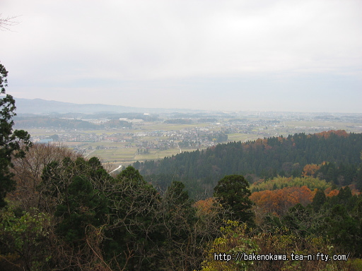 北条城跡頂上からの眺望その1