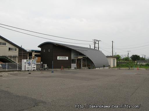 羽生田駅の新駅舎その1