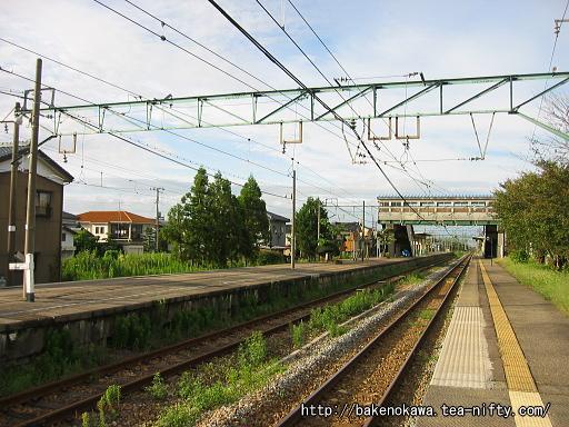 羽生田駅の1番ホームその2