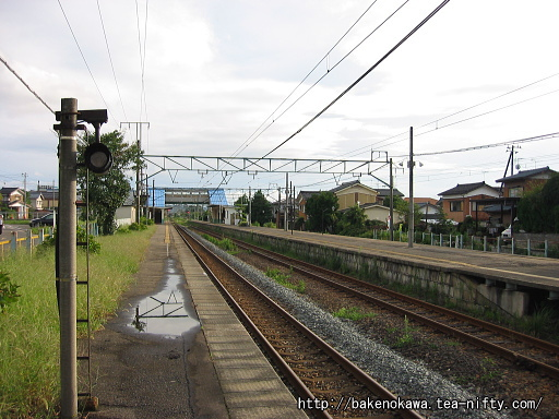 羽生田駅の1番ホームその3