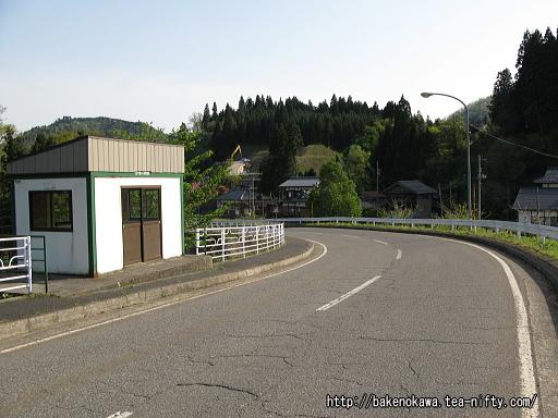 JRの代行バス用の停留所
