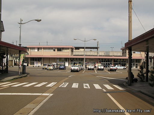 十日町駅東口駅舎