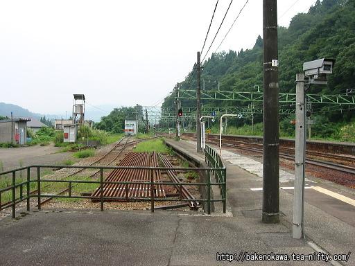 越後川口駅の1番ホームその4
