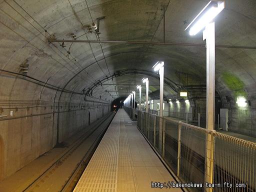 土合駅の地下ホームその3