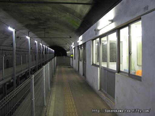 土合駅の地下ホームその8