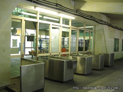 土合駅駅舎内部その2